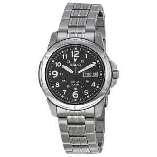 Seiko Men's SNE095 'Solar' Stainless Steel Watch