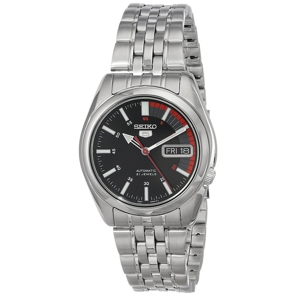 Seiko Men's SNK375J1 '5' Automatic Stainless Steel Watch