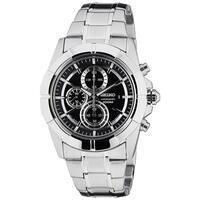 Seiko Men's SNDE65 Chronograph Stainless Steel Watch