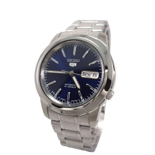 Seiko Men's '5' Automatic Stainless Steel Watch. Opens flyout.