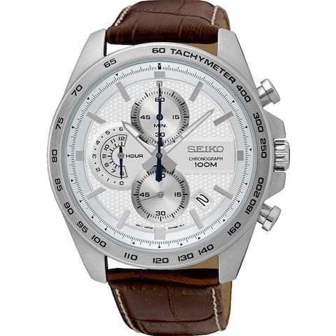 Seiko Men's Chronograph Stainless Steel Watch