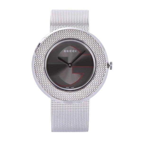 ae168bf4721 Shop Gucci Women s  U-Play  Stainless Steel Watch - Free Shipping Today -  Overstock - 20904542