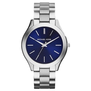 Michael Kors Women's 'Slim Runway' Stainless Steel Watch