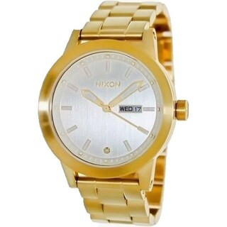 Nixon Women's A263-502 'Spur' Gold-Tone Stainless Steel Watch