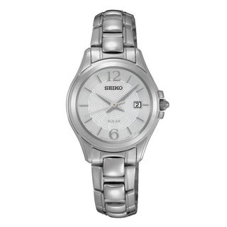 Seiko Women's SUT233 'Solar' Stainless Steel Watch