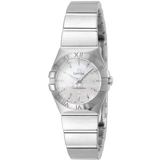 Omega Women's 123.10.24.60.05.001 'Constellation' Stainless Steel Watch