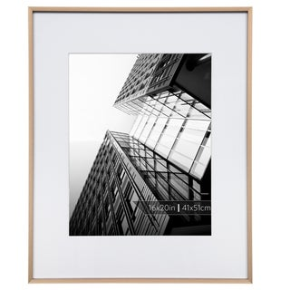 16x20 Aluminum Gallery Frame Matted To 11x14