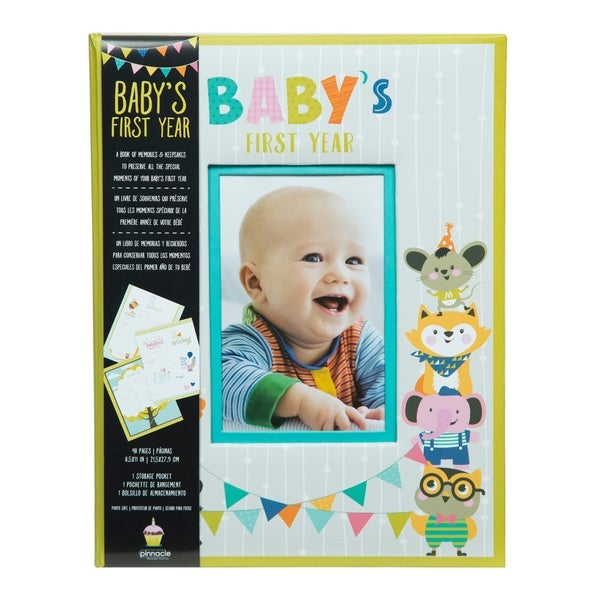Shop Baby S First Year Hardcover Milestone Memory Book Journal And