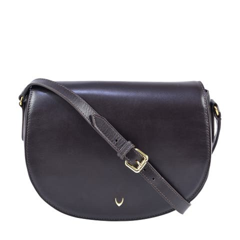 Hidesign Nelly Classic Leather Crossbody Bag