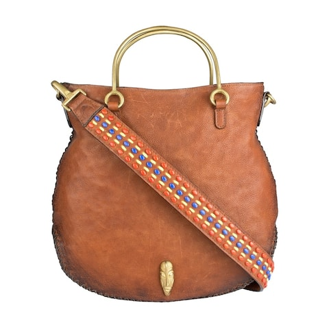 Hidesign Kiboko Women's Leather Crossbody Bag