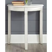 Birchatta White Casual Console Table