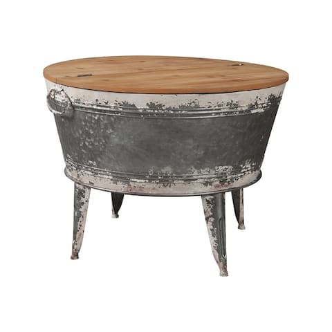 Shellmond Industrial Distressed Cocktail Table