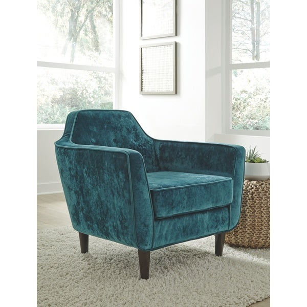 Oxette Velvet Accent Chair Ships To Canada