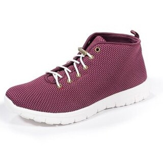 Zee Alexis Womens Kerrigan High Top Sneakers Burgundy