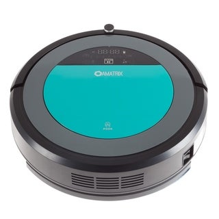 Robotic Vacuum Cleaner and Mop- Amatrix V600 Dual Vacuuming and Mopping Cleaning Robot with UV Sterilization Light