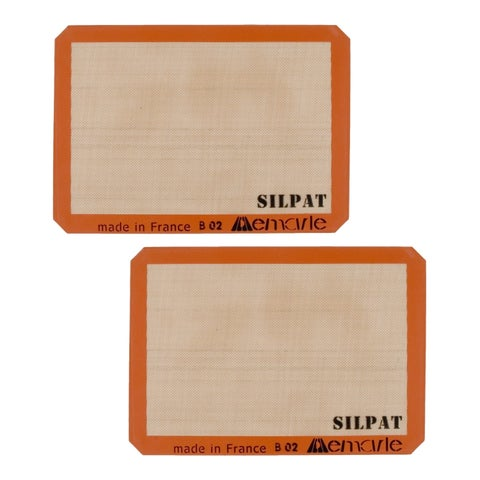 Silpat AE420295-07 Premium Non-Stick Silicone Baking Mat 2-Pack