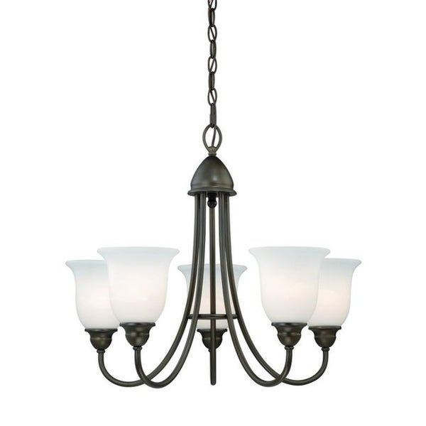 Vaxcel Concord 5L Chandelier Oil Rubbed Bronze