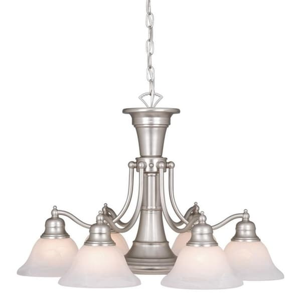 Vaxcel Standford 7L Chandelier Brushed Nickel