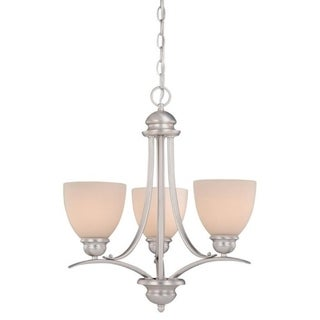 Avalon 3L Mini Chandelier Brushed Nickel