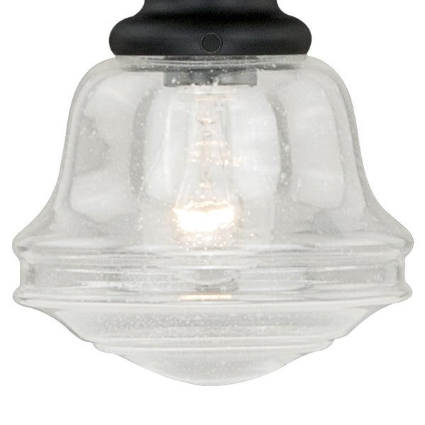 Vaxcel P0078 8-Inch Mini Pendant Polished Nickel