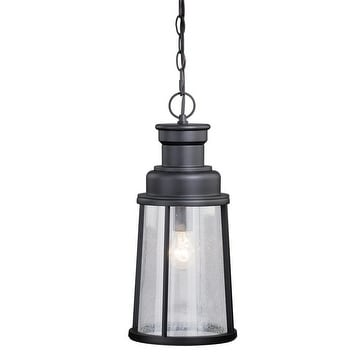 "Vaxcel Coventry 8"" Outdoor Pendant Dark Bronze"