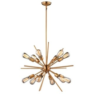 Vaxcel Estelle 12L Pendant Natural Brass