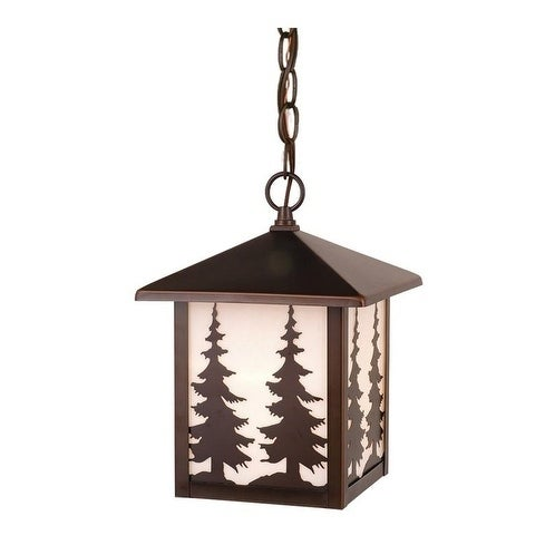 "Yosemite 8"" Outdoor Pendant Burnished Bronze"