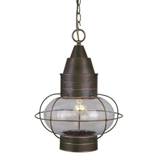 "Chatham 13"" Outdoor Pendant Burnished Bronze"