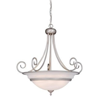 "Vaxcel Da Vinci 32"" Pendant Brushed Nickel"