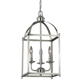 Vaxcel Juliet 3L Pendant Satin Nickel