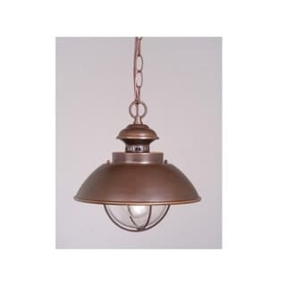 "Harwich 10"" Outdoor Pendant Burnished Bronze"