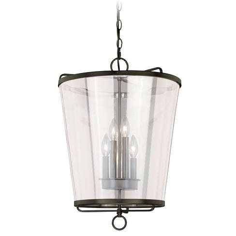 """Vaxcel 630 Series 16-1/2"""" Pendant New Bronze w/Clear Glass"""
