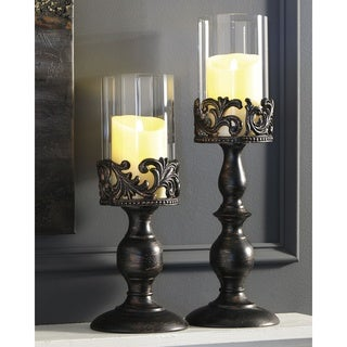 Constance Candle Holder - Set of 2