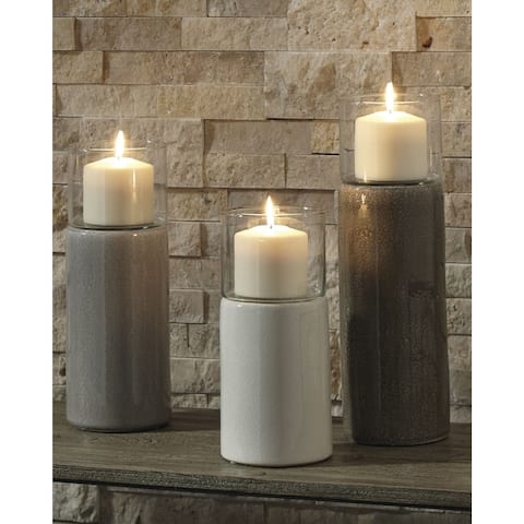 Deus Candle Holder - Set of 3