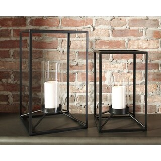Signature Design by Ashley Dimtrois Set of 2 Lanterns