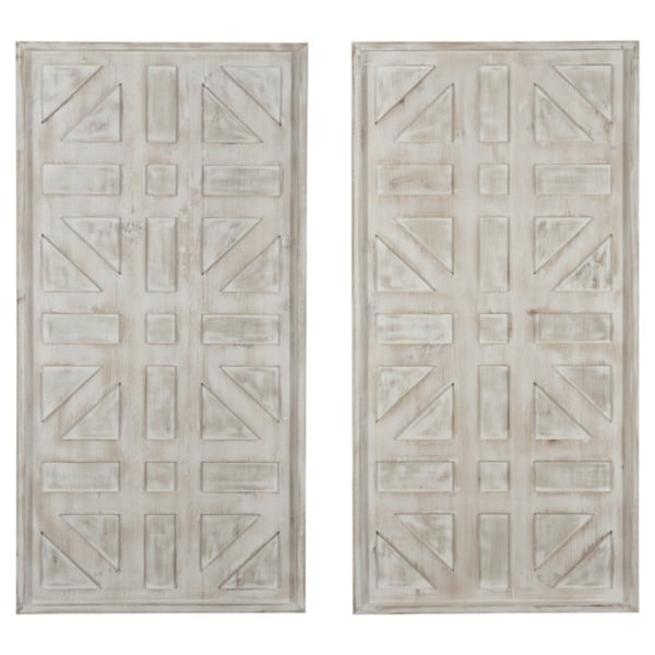 Dubem Geometric Wall Décor - Set of 2