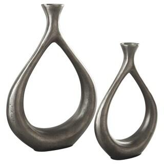 Signature Design by Ashley Dimaia Set of 2 Vases