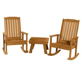 Havenside Home Mandalay Rocking Chairs and Side Table (3-piece Set)