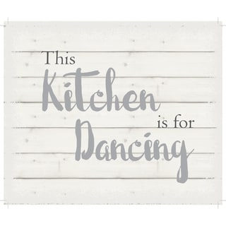"""This kitchen is for dancing - White background 10"""" x 12"""" - 10 x 12"""