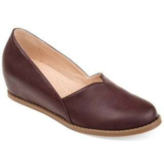 Journee Collection Comfort Val Women's Wedge Loafers