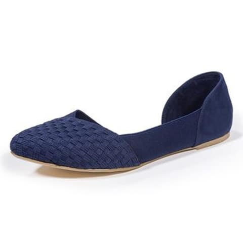 Zee Alexis Womens Norah Shoes Navy