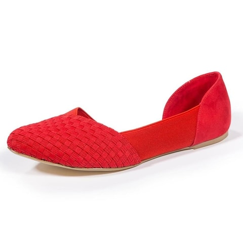Zee Alexis Womens Norah Shoes Red
