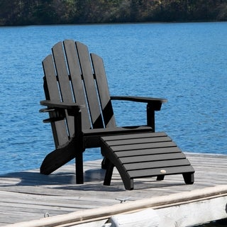 1 Classic Westport Adirondack Chair, 1 Cup Holder, & 1 Folding Ottoman