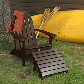 1 Essential Adirondack Chair With Folding Ottoman More Options Available