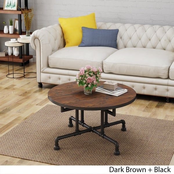 Westleigh Industrial Faux Wood Coffee Table by Christopher Knight Home