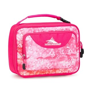 High Sierra Single Compartment Lunch Bag, Effervescent/Flamingo