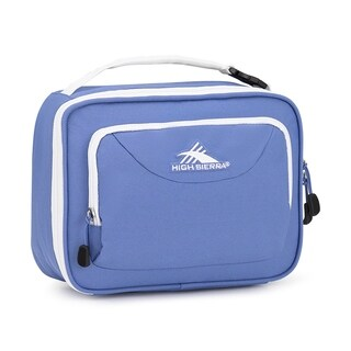 High Sierra Single Compartment Lunch Bag, Lapis/White