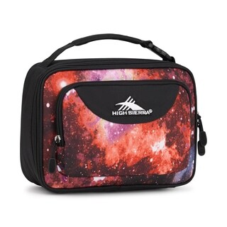 High Sierra Single Compartment Lunch Bag, Space Age/Black