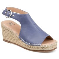 Journee Collection Crew Women's Wedge Sandals