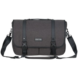 Kenneth Cole Reaction Multi-Compartment USB Charging Port 15.6-inch Laptop Messenger Bag